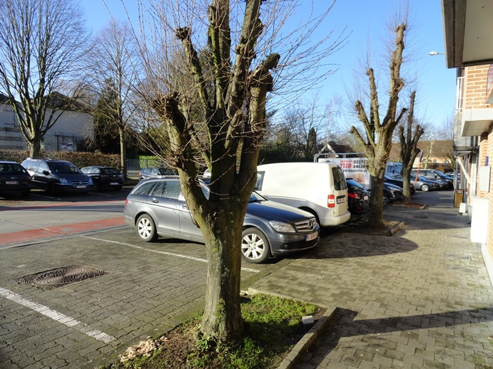 Parking zakenkantoor sven van den meersschaut